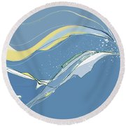 Windblown Round Beach Towel