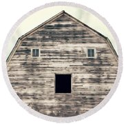 Round Beach Towel featuring the photograph Window To The Soul by Julie Hamilton
