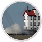 Winds Of March 3 Round Beach Towel