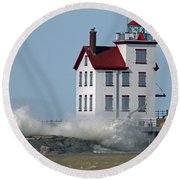 Winds Of March 5 Round Beach Towel