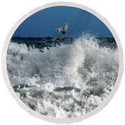 Windsurfer Round Beach Towel