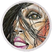 Windy Daze Round Beach Towel