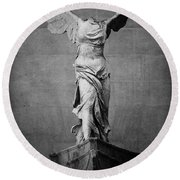 Winged Victory Of Samothrace - #2 Round Beach Towel