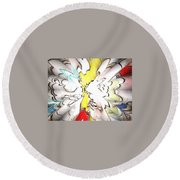 Wings Of Dreams Round Beach Towel
