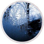 Wintertide Round Beach Towel