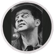 Wise Guy Round Beach Towel