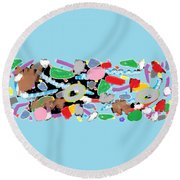 Wish - 344 Round Beach Towel