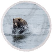 Round Beach Towel featuring the photograph Wish Me Luck by Sandra Bronstein
