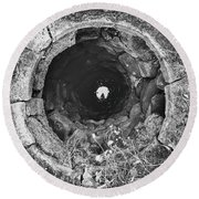 Wishing Well Round Beach Towel