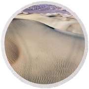 Without Water Round Beach Towel