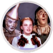 Wizard Of Oz Round Beach Towel
