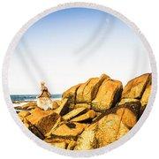 Wonderful West Coast Tasmania Round Beach Towel