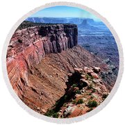 Wonderland In Utah Round Beach Towel
