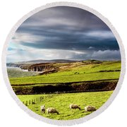 Round Beach Towel featuring the photograph Wonders Of Thrumster by Anthony Baatz