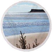 Wood Islands Beach Round Beach Towel by Kim Prowse