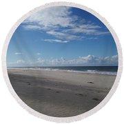 Woorim Beach Round Beach Towel