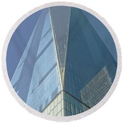 World Trade Center 2016 Round Beach Towel