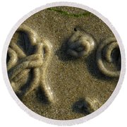 Worm Tapestry Round Beach Towel