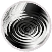 Wormhold Abstract Round Beach Towel