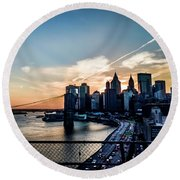 Would You Believe Round Beach Towel