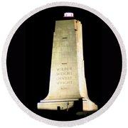 Wright Brothers' Memorial Round Beach Towel