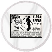 X-ray Specs $1.00 Round Beach Towel