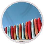 Yaks Round Beach Towel