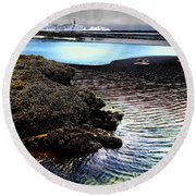 Yaquina Dream Round Beach Towel