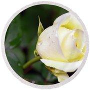 Yellow Rose 2 Round Beach Towel