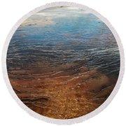 Yellowstone Colors #6 Round Beach Towel