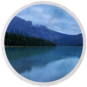 Round Beach Towel featuring the photograph Yoho by Chad Dutson