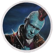 Yondu Round Beach Towel