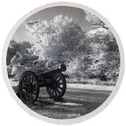 Yorktown - Cannon Round Beach Towel
