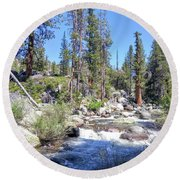 Yosemite 1 Round Beach Towel
