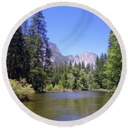 Yosemite 11 Round Beach Towel