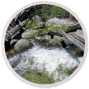 Yosemite 2 Round Beach Towel