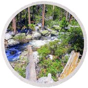 Yosemite 4 Round Beach Towel