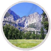 Yosemite 7 Round Beach Towel