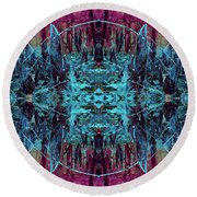 You Are The Frequency Round Beach Towel