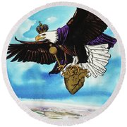 You Can Soar Round Beach Towel