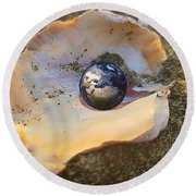 Your Oyster Round Beach Towel