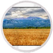 Yukon Gold Round Beach Towel