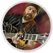 Zac Brown Round Beach Towel