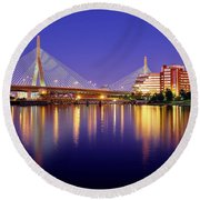 Zakim Twilight Round Beach Towel