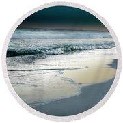Zamas Beach #13 Round Beach Towel