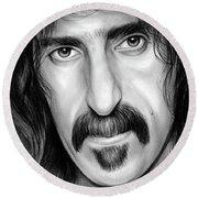 Zappa Round Beach Towel