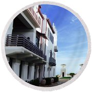 Alys Architecture Round Beach Towel
