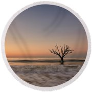 Botany Bay Tree Round Beach Towel