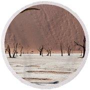 Deadvlei Desert Round Beach Towel