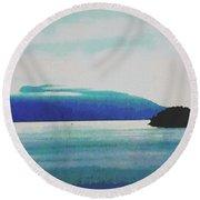 Gulf Islands Round Beach Towel